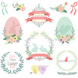 Easter Design Elements Royalty Free Stock Photos