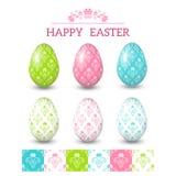 Easter design elements. Vector illustration Royalty Free Stock Images