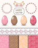 Easter design elements. Vector illustration royalty free illustration