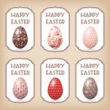 Easter design elements. Vector illustration Royalty Free Stock Image