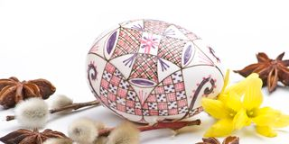 Easter design. Happy easter traditions in the spring season royalty free stock photo
