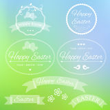 Easter design icons Stock Photography