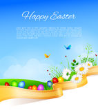 Easter design template Stock Photography