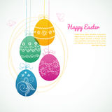Easter design template Stock Image
