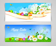Easter design template Royalty Free Stock Images