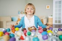 Easter dessert Stock Image