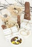 Easter desserts Stock Image