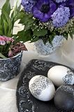 Easter detail, black and white Royalty Free Stock Photography