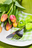 Easter dinner Royalty Free Stock Photography