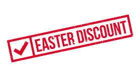 Easter Discount rubber stamp Stock Image