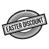 Easter Discount rubber stamp Royalty Free Stock Photos