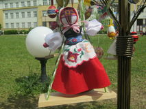 Easter Doll. Ukraine handmade doll calld Motanka Royalty Free Stock Photography