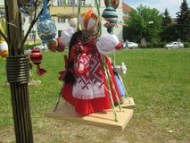 Easter Doll. Ukraine handmade easter doll calld Motanka Royalty Free Stock Images