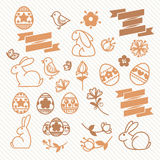 Easter doodle Royalty Free Stock Images