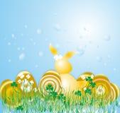 Easter dourado na exploração agrícola Foto de Stock