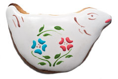 Easter dove biscuit Stock Photos