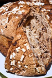 Easter dove closeup. Colomba pasquale (Easter Dove). It is a typical italian eastern cake. It is similar to panettone and has the shape of a dove Stock Photography