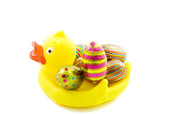 Easter duck Royalty Free Stock Image