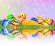 Easter duck Royalty Free Stock Images