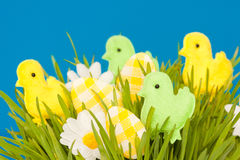 Easter ducks Stock Photo