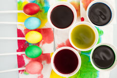 Easter dye Stock Photography