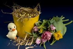 Easter e mola Foto de Stock