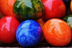 Easter, Easter Eggs, Colorful Royalty Free Stock Photos