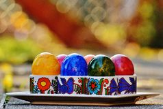 Easter, Easter Eggs, Colorful Stock Photography