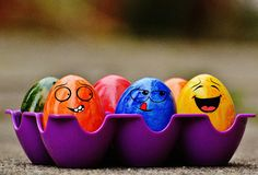 Easter, Easter Eggs, Funny Royalty Free Stock Image