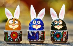 Easter, Easter Eggs, Funny, Hare Stock Photography