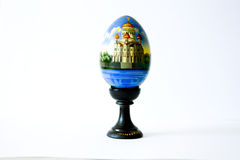 Easter egg. Gift for Easter. Beautifully and gracefully Royalty Free Stock Photo