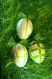 Easter egg. Eggs; painted eggs; leaves; tradition; spirituality; religion; easter; s; red leaves; yellow leaves; food; towel; romanian towel; concept; design royalty free stock photography