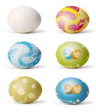 Easter egg. Set os easter egg isolated vector illustration