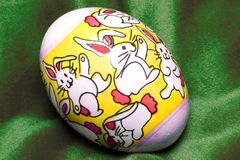 Easter egg 2 stock image