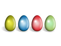 Easter egg. Isolated photo of easter egg Royalty Free Stock Photo