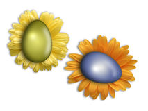 Easter egg. Isolated photo of easter egg Royalty Free Stock Image