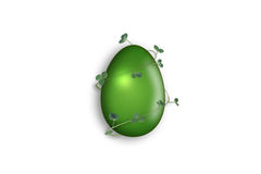 Easter egg. Isolated photo of easter egg Royalty Free Stock Images