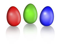 Easter egg. Isolated photo of easter egg Royalty Free Stock Photos