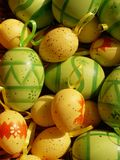 Easter egg. S background Stock Photos