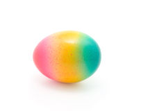 Easter egg. Colorful Easter egg isolated in white background stock photos