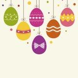 Easter Egg background Stock Images