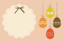 Easter Egg background Stock Photography