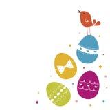 Easter Egg background Stock Image
