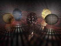 Easter egg - Background - 3D. Illustration about Easter - Background - 3D Royalty Free Stock Image