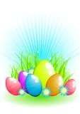 Easter egg background Royalty Free Stock Photo