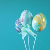Easter egg background Stock Photo