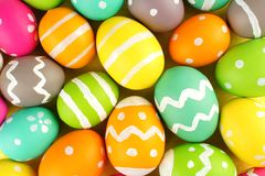 Easter egg background Stock Image