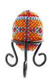 Easter egg from beads Stock Images