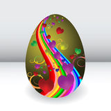 Easter egg is a beautiful Royalty Free Stock Images