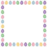 Easter Egg Boarder Royalty Free Stock Images